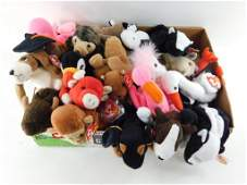 Lot of Beanie Babies with Tags