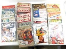 Lot of old magazines from the 1940s and 1950s