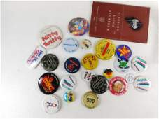 Lot of Vintage Pin Back Buttons