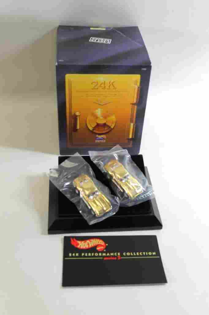 Hot Wheels 24K Performance Collection 2 Cars