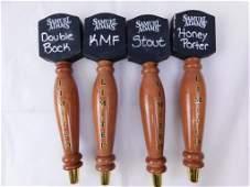 Lot of 4 Samuel Adams Beer Tappers
