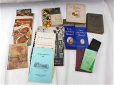 Lot of Vintage Cookbooks and Recipe Books