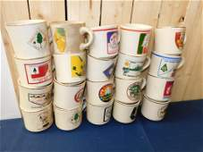 Lot of Vintage Boy Scout Mugs
