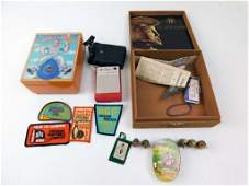 Lot of Vintage Smalls incl Transistor Radio Toy