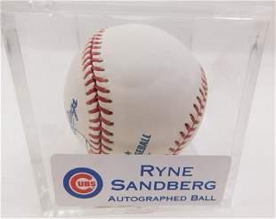 Ryne Sandburg Autographed Ball