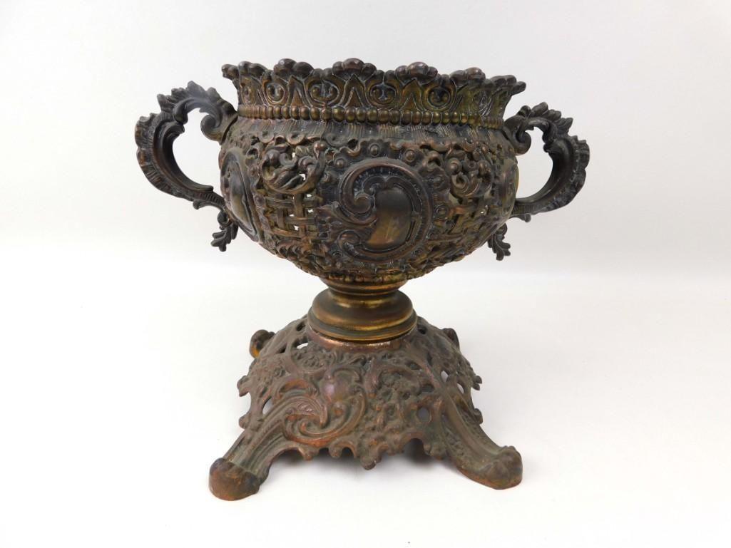 Vintage Metal Vase