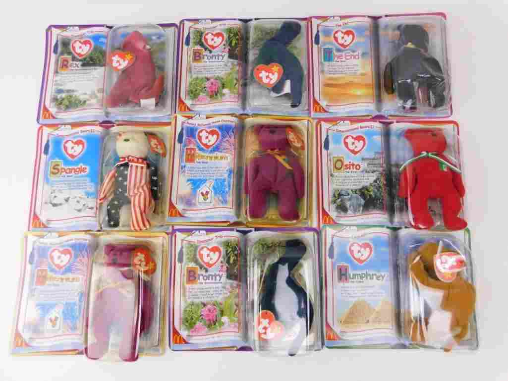 Lot of Ty Beanie Babies New in Package