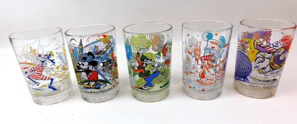 Cartoon Glasses Incl. Mickey Mouse & Goofy