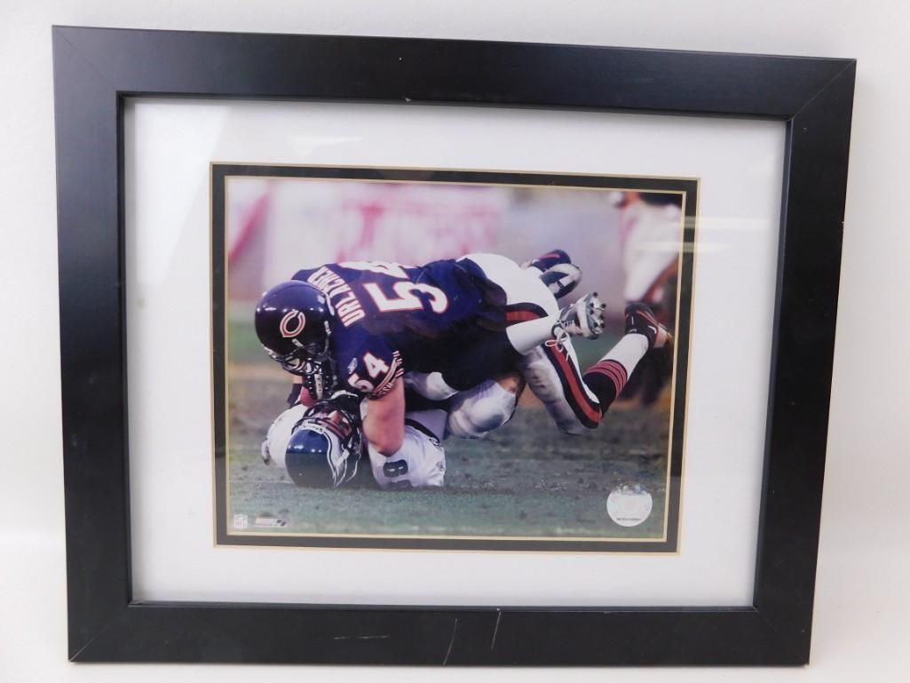 Official NFL Framed Brian Urlacher Photo