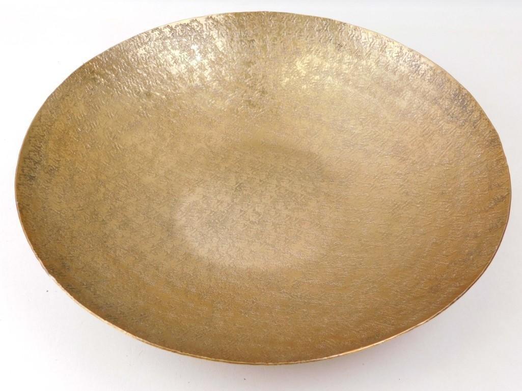 Talis Hammered Platter Decorative Bowl