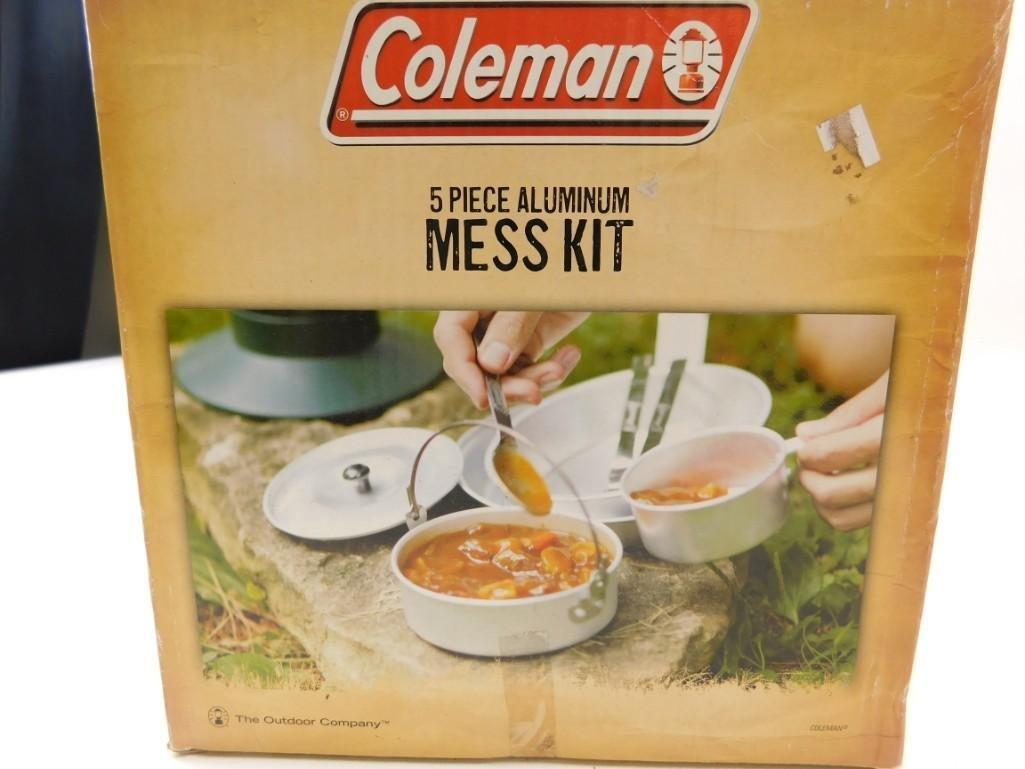 Coleman 5 Piece Aluminum Mess Kit