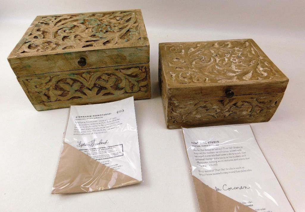 Artistic Limited Edition Boxes w/COAs