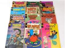 Lot of Vintage Comic Books incl Porky Pig Tragg