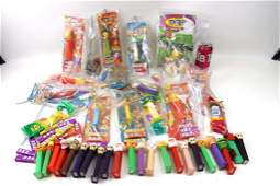 Huge Collection of Pez Dispensers incl New in Package