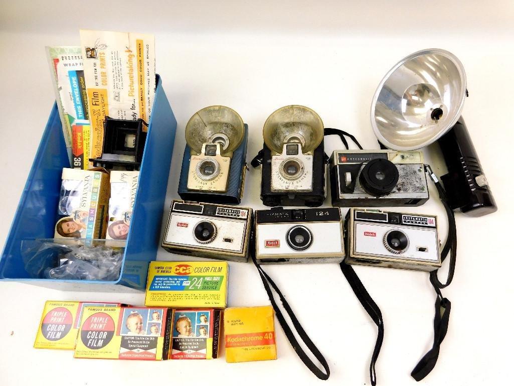 Vintage Cameras & Film