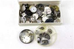 Lot of Watch Parts and Pieces