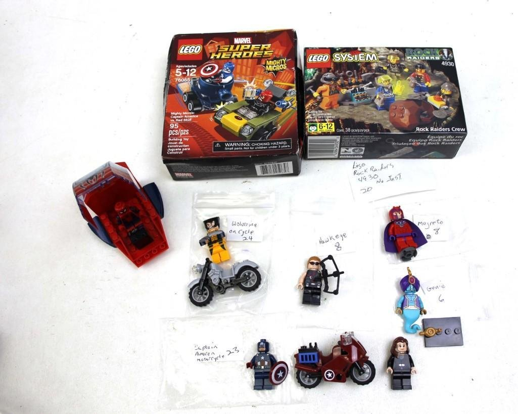 Lego Mini Figures Lot Mostly Super Heroes , 1 Box is