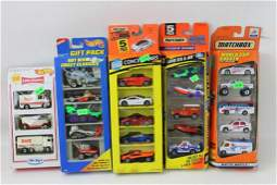Lot of Hot Wheels and Matchbox Cars Sets New in Package