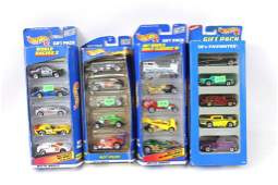 Lot of Hot Wheels Gift Pack Car Sets