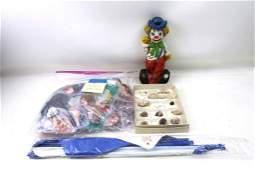 Misc Lot incl Clown Figure , Ty Mcdonalds Beanie Babies