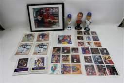 Large Sports Lot! Michael Jordan, Walter Payton, Leroy
