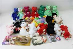Lot of Beanie Babies incl New with Tags and In Package