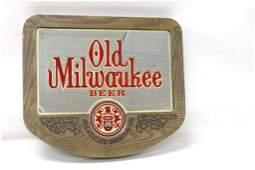 Vintage Old Milwaukee Beer Sign