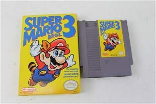 Super Mario Bros. 3 NES Game with Box