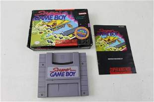 Super Game Boy with Box and Instructions for the SNES