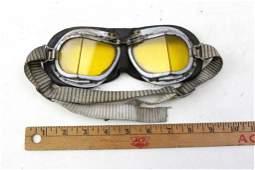 World War 2 British RAF Pilot Goggles