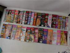 Lot of 31 Playboy Magazines from 20002003
