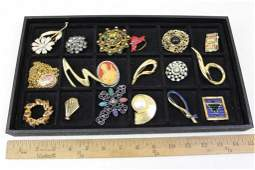 Lot of Brooches and Pins incl Vintage