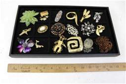 Lot of Brooches incl Vintage