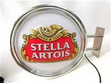 Large Stella Artois Lighted Beer Advertising Sign ,