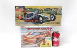 Lot of 2 Race Car Model Kits New and Sealed incl