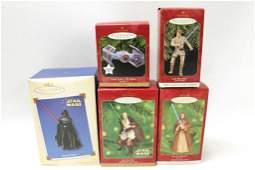 Lot of Star Wars Hallmark Keepsake Ornaments