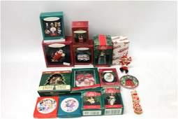 Lot of Christmas Ornaments incl Hallmark Keepsake ,