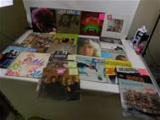 Lot of 25 Vinyl LP Records including Classic Rock etc