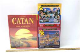 New Catan Board Game and 2 New Dowdle Puzzles