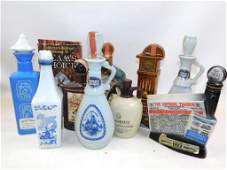 Lot of EMPTY Vintage Decanters incl Jim Beam