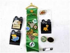 Lot of Vintage and Collectible Pins including Disney