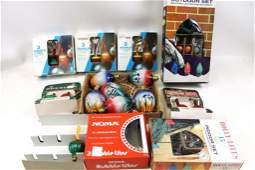 Lot of Vintage Christmas Light Bulbs incl Bubble Lights