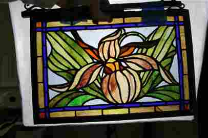 Stained Glass Window Hanging Decor
