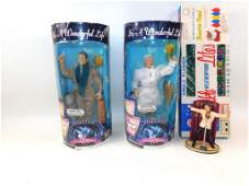 Collectibles Lot incl Its a Wonderful Life Figures