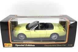 Maisto Special Edition Thunderbird Show Car 1:18 Scale