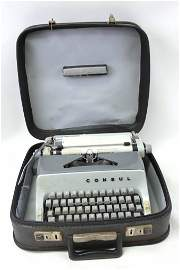 Vintage Consul Portable Manual Typewriter