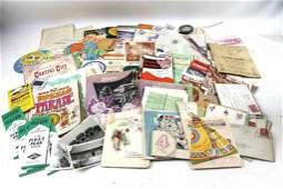 Vintage Ephemera Lot incl Photos , Greeting Cards,