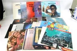 Lot of 27 Vinyl LP Records including Johnny Cash