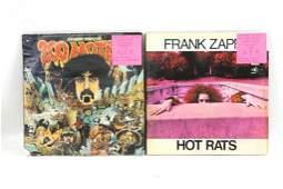 Lot of 2 Frank Zappa Vinyl LP Record Albums