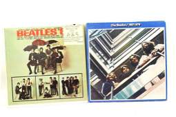 Lot of 2 Beatles Vinyl LP Records '65 and 1967-1970